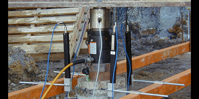 Pile compression load testing 2