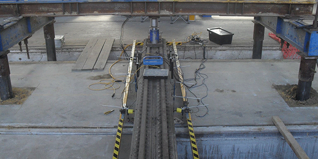 Pile compression load testing 6