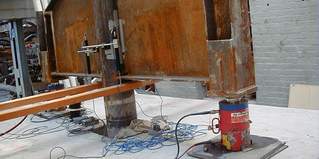 Pile tension load testing 5