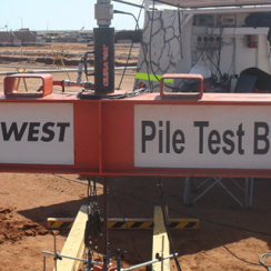 Pile Tension Load Testing | Geotechnical Instrument Testing Services